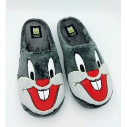 Slippers cara gris de...