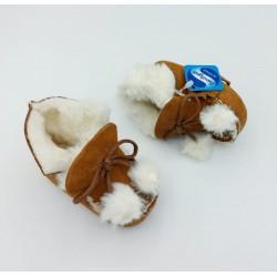 Zapato Bebe Pelo Pompones...