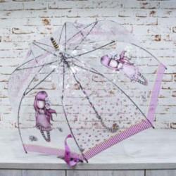 Paraguas transparente largo...