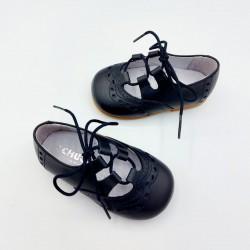 Zapato ingles niño marino...