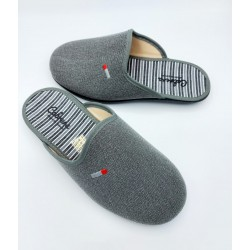 Zapatilla hombre gris 9536...